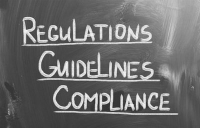 Compliance Guidelines Regulations Concept