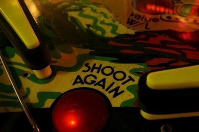 pinball machine shoot again