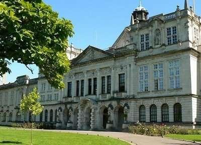 cardiff university campus building