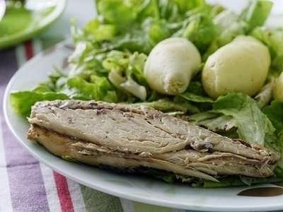 Mackerel is an oily fish