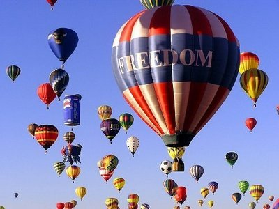 Advertising Hot Air Balloons