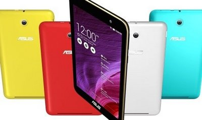 colourful asus tablets
