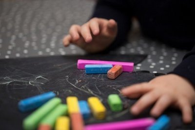 English Teacher with Chalk