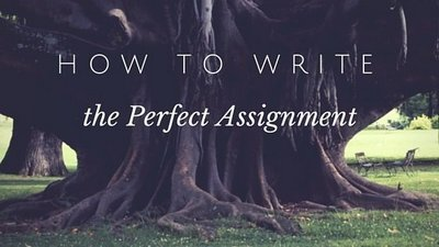 Perfect Assignment Message & Old Tree